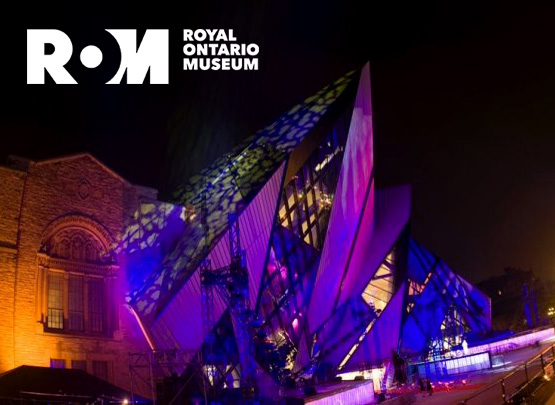 website redesign for Royal Ontario Museum